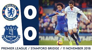 TOFFEES EARN POINT FROM UNBEATEN CHELSEA | CHELSEA 0-0 EVERTON
