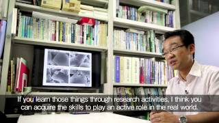 Tokyo University of Science introductory video Chapter5: Interview with Professor from TUS