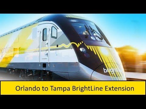 Orlando to Tampa BrightLine Extension Proposal