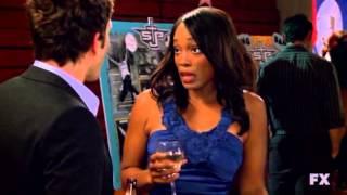 Dennis tries to bang Tim Murphy's black wife