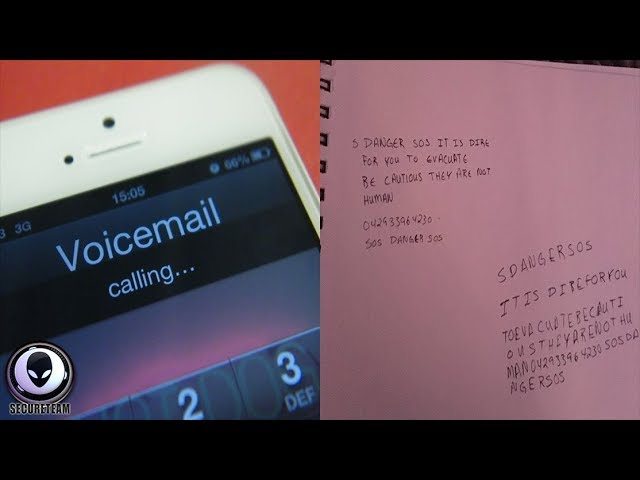 """CREEPY Voicemail Message Is """"Shaking"""" The Internet"""