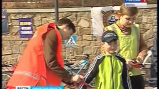 Инспекторы ГИБДД напоминают школьникам о правилах безопасного поведения на дорогах(ГТРК Вятка)