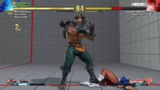Echando la reta un rato en Street Fighter V