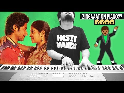 ZINGAAT - Dhadak / Sairat (Ajay Atul) - EPIC PIANO COVER