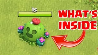 WHAT HAPPEN WHEN WE U REMOVE SPIKE-Y CACTUS IN CLASH OF CLANS | COC December update (2018)