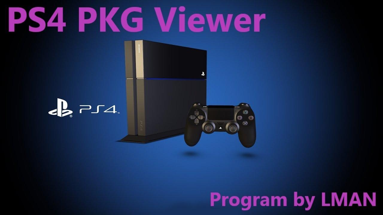 PS4PKGViewer: A PS4 PKG Viewer by LMAN (TheLeecherMan) | PSXHAX