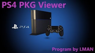 PS4 PKG Viewer by LMAN