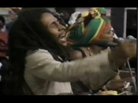 Bob Marley - Jamming - live at Deeside Leisure Centre 1980
