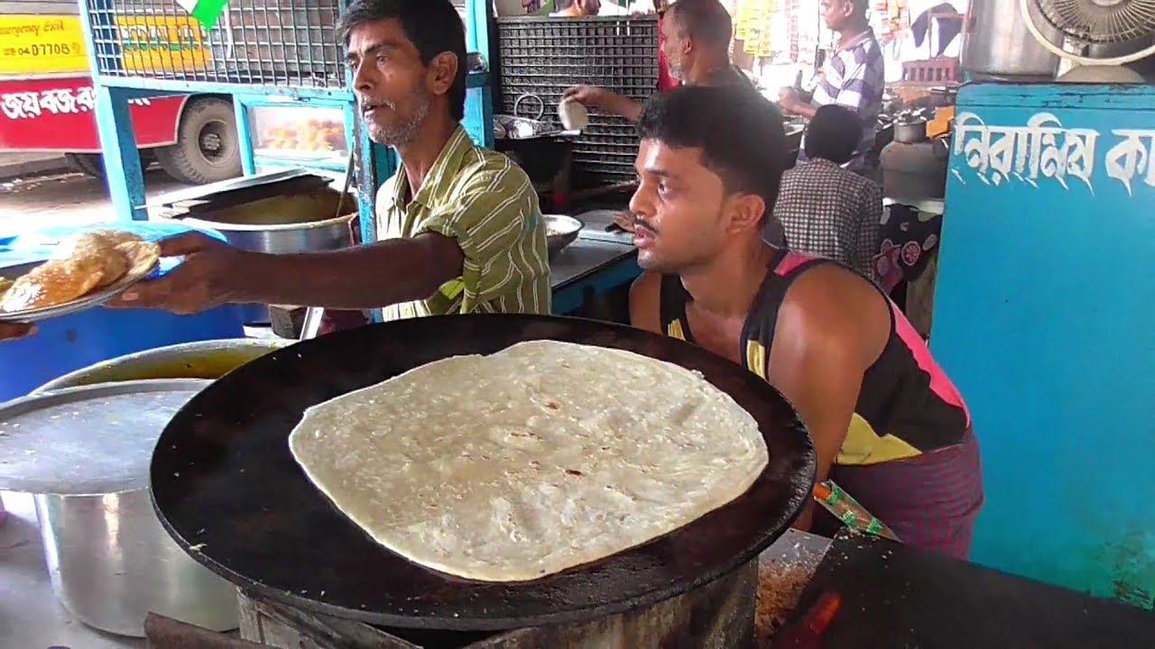 Petai Paratha 100 gram 10 rs & Kachori 4 Piece 10 rs with Potato Curry    Besides Ballygunge Station