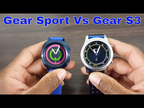 Gear Sport Vs Gear S3 Comparison What's The Difference?