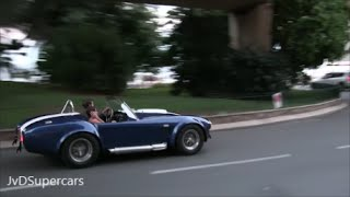 AC Cobra 427 in Monaco! TOO LOUD FOR HIS GIRLFRIEND!