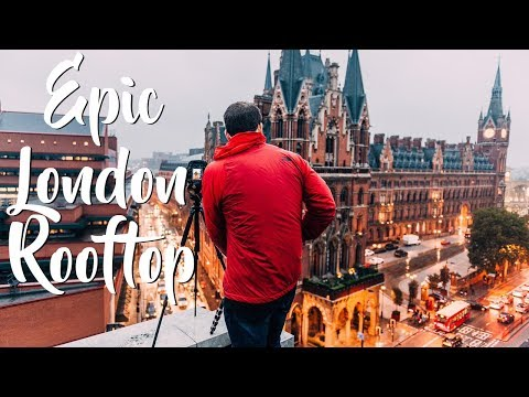 Epic London Rooftop *Photography Vlog*