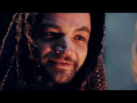 Ashur from Spartacus  shadow on the wall