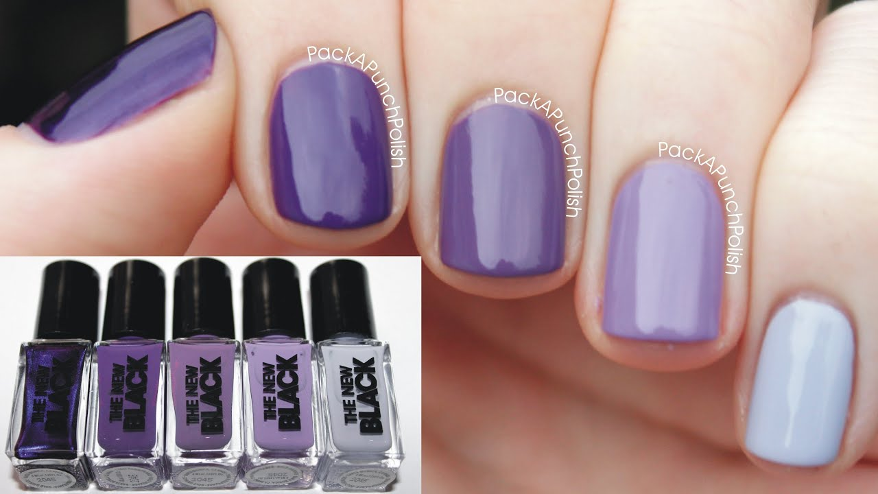 Haze Ombre Nail Set by The New Black - YouTube