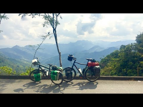 Bicycle trekking trip Colombia
