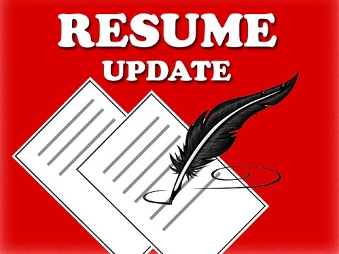 HOW TO RESUME UPDATE AS A REGISTERED USER