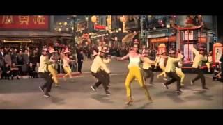FANCY FOOTWORK - CHROMEO   SUPERCUT CLASSIC MOVIE DANCE MASHUP