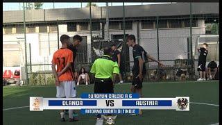 ROMA SPORT & FUN Ritorno Quarti di Finale Eurofun Ca6 - Olanda - Austria 10-2