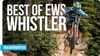 Best of EWS round 6 Whistler | SHIMANO