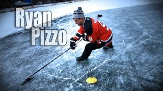 pond hockey drills with ryan pizzo easton synergy htx hockey stick e36 curve