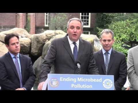 A.G. Schneiderman and Council Member Garodnick Announce Legislation to Ban Microbeads in NYC