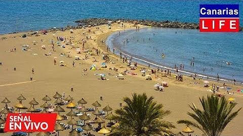 📹🔴 LIVE WEBCAM from Playa de Troya Adeje Tenerife