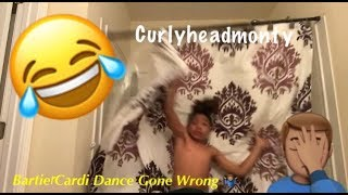 Bartier Cardi Dance Gone Wrong
