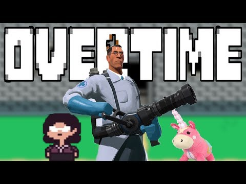 THE DOCTOR WILL SEE YOU NOW | OVERTIME ( PACIFIST PLAYTHROUGH ) #1 | UNDERTALE MEETS TEAM FORTRESS 2