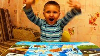 Детский Пазл. Данияр и Пазлы Животные с Севера. How to Collect Puzzles.