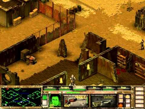 Fallout Tactics Walkthrough Part 2 Freeport