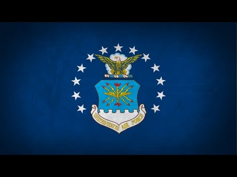 """United States of America (1776-) Military March """"The U.S. Air Force"""" (1938)"""