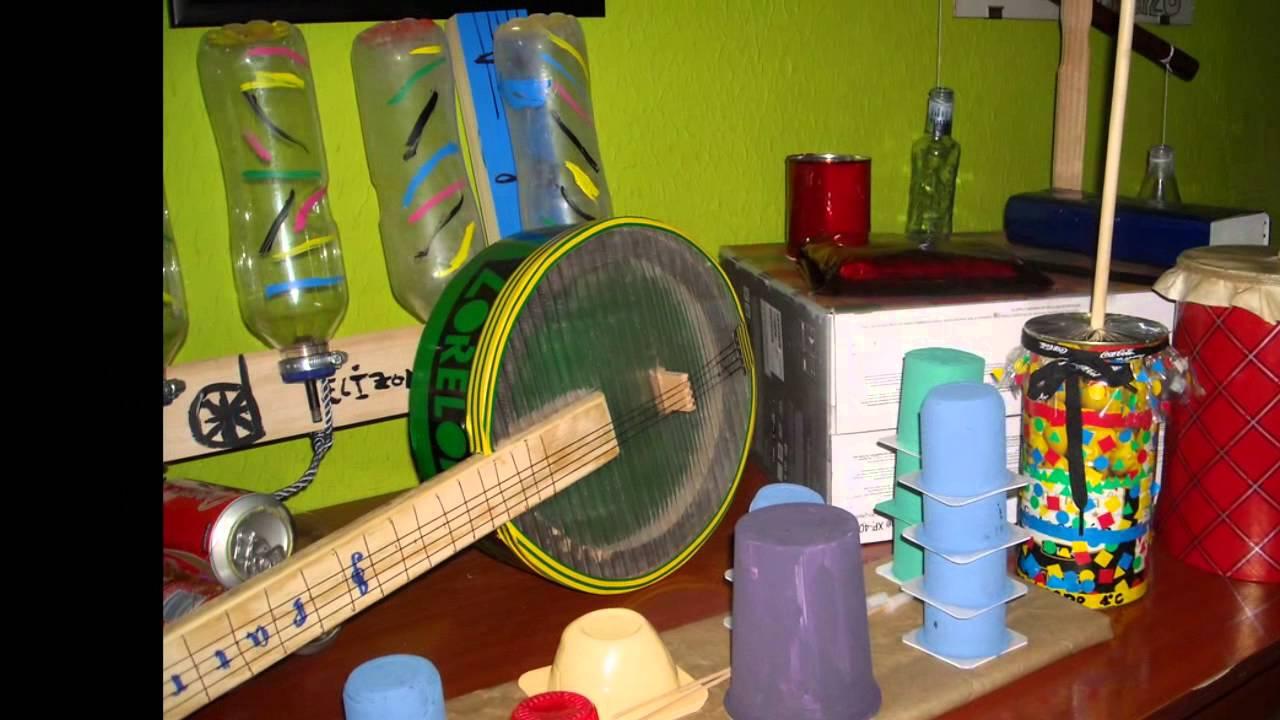 Reciclaje e Instrumentos Musicales - YouTube