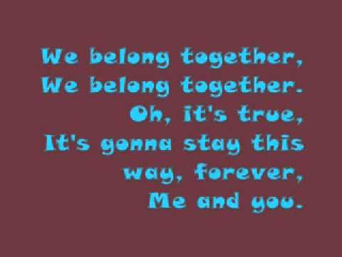 toy story 3_we belong together _randy newman with lyrics