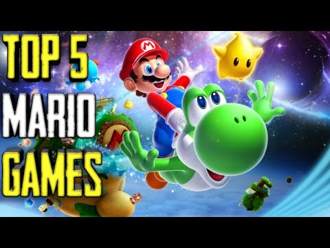 Top 5 Mario Games For Android 2020//Best Mario Games For Android