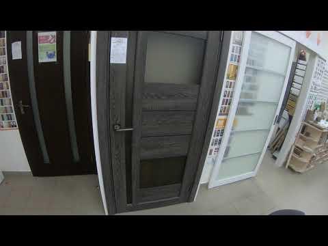 Межкомнатные двери Korfad VND-03 дуб марсала