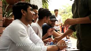 Ramjas College - admissions time at Delhi University