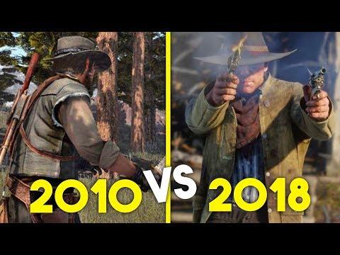 Rockstar Games vor 8 Jahren! // So sieht Red Dead Redemption 1 aus!