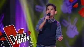 Sebastián canta Vois Sur Ton Chemin – Audiciones a Ciegas | La Voz Kids Colombia 2019