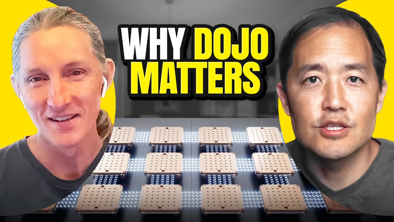 Dojo: Tesla's Massive Supercomputer Explained with James Douma #22 (Ep. 419)