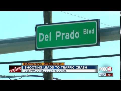 Shooting leads to traffic crash
