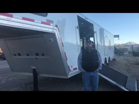 High Country All Aluminum Snowmobile Trailer Walkthrough