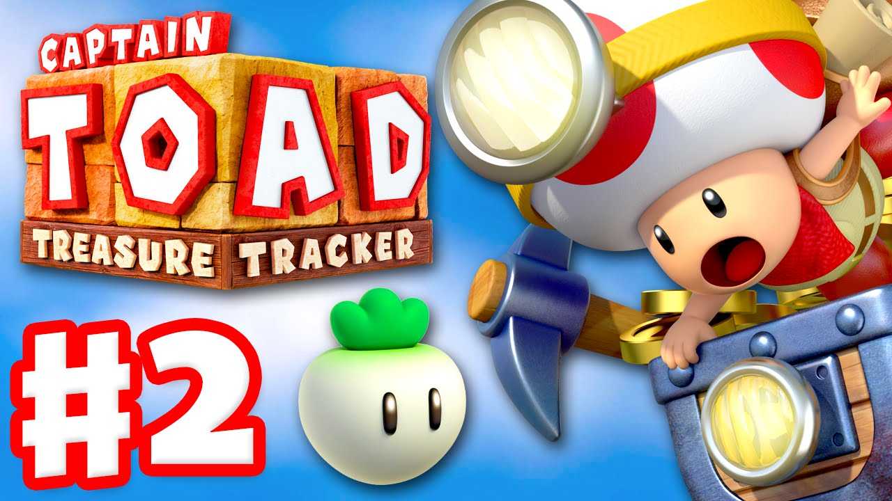 Captain toad treasure tracker gameplay walkthrough part 2 the