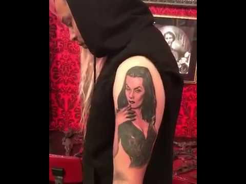 Vampira Tattoo Kat Von D- Vampira Tat...