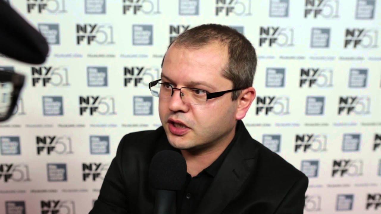 "NYFF51: Corneliu Porumboiu | ""When Evening Falls on Bucharest or Metabolism"" Red Carpet"