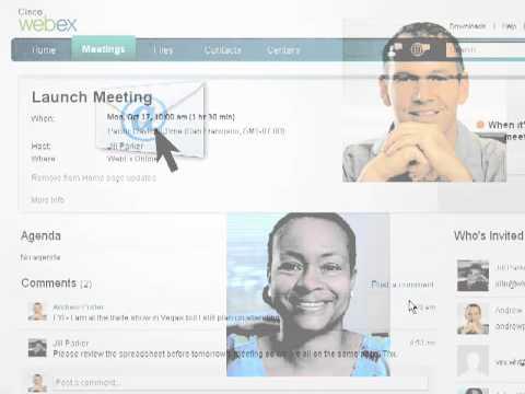 Cisco WebEx: Productivity Tools