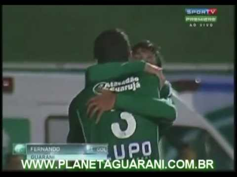 GOLS: Boa 1x2 Guarani - 21ª Rodada Campeonato Brasileiro Série B 2012