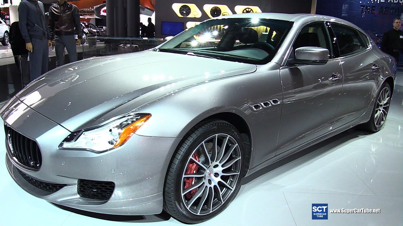 2016 maserati quattroporte gts exterior and interior. Black Bedroom Furniture Sets. Home Design Ideas