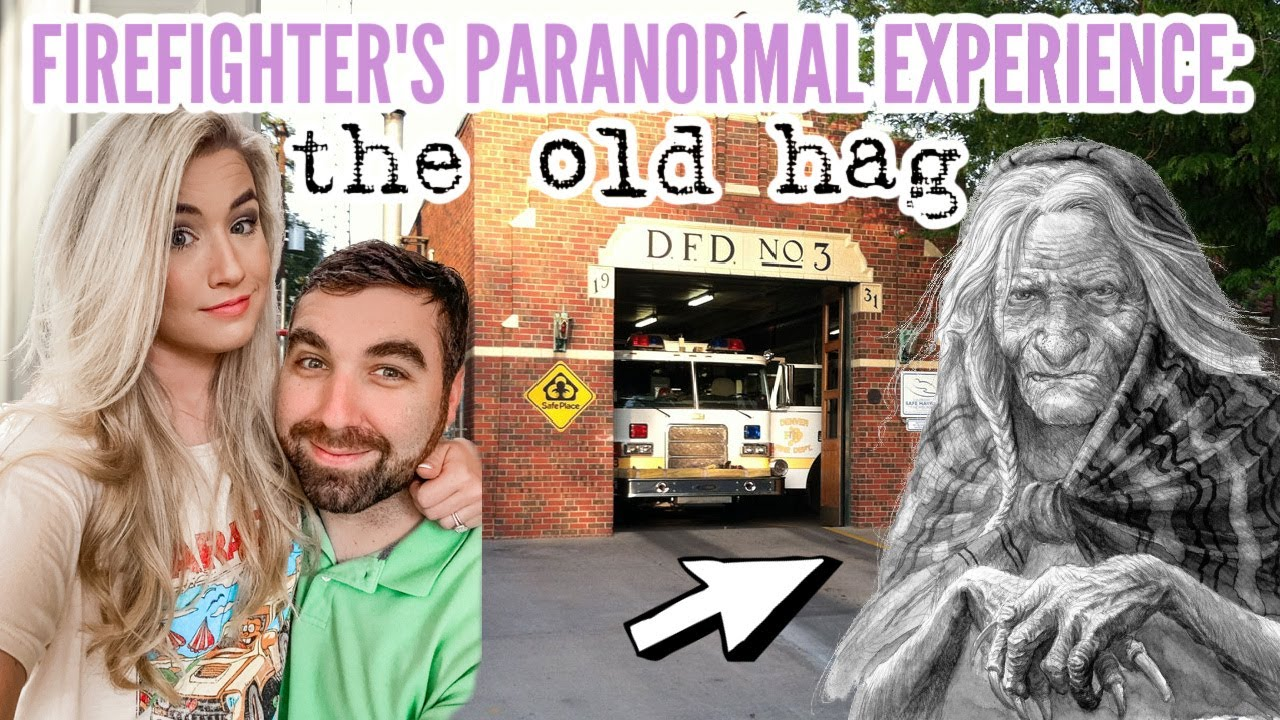 👻 CREEPY CLEAN WITH ME: GHOST STORY   FIREFIGHTER AND THE OLD HAG   SLEEP PARALYSIS   Love Meg