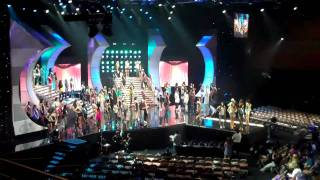 miss universe 2010 pick 15 rehearsal