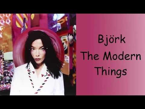 Björk - The Modern Things (Lyrics/Español)